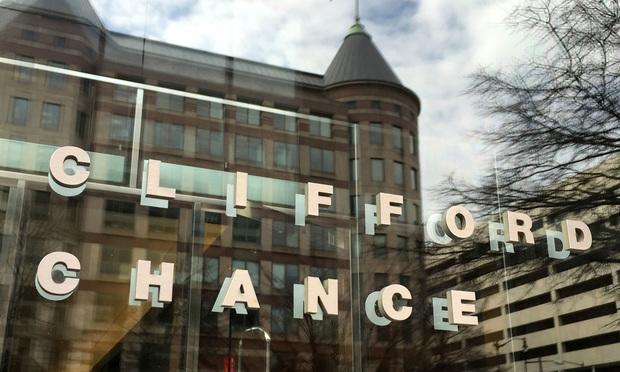 Clifford Chance sign