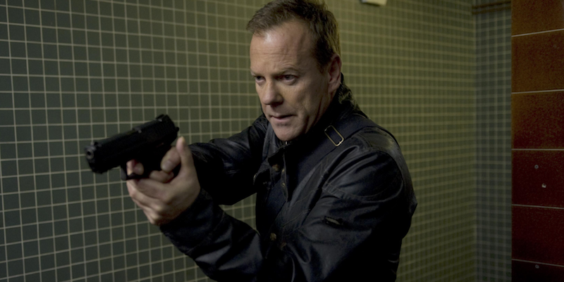 Kiefer Sutherland to star in new The Fugitive series