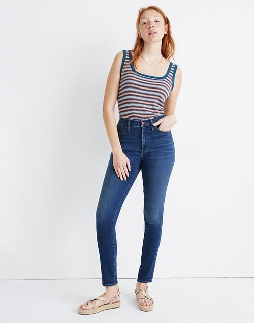 """<p>These <span>Madewell 10"""" High-Rise Roadtripper Jeans</span> ($75) are classic and comfortable. You can't go wrong.</p>"""
