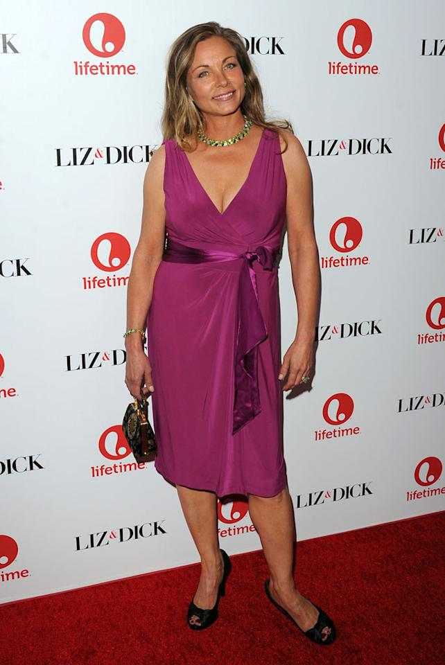 "Theresa Russell attends the premiere of Lifetime's ""Liz & Dick"" at the Beverly Hills Hotel on November 20, 2012 in Beverly Hills, California."