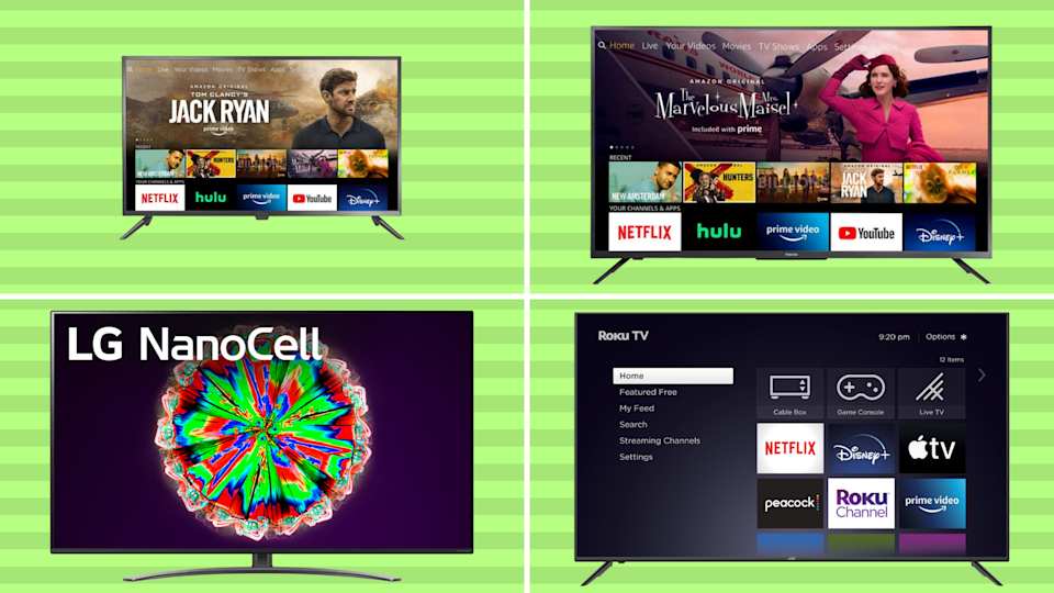 Pick a TV, any TV...and save big for Prime Day! (Photos: Yahoo Life)
