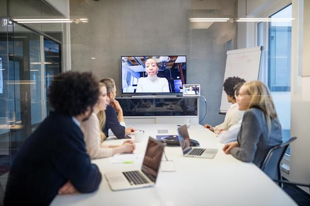 It's now easier than ever before to work remotely and keep connected. (Getty Images)