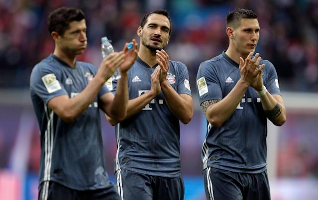 Can Bayern Munich clinch the Bundesliga title at the Allianz Arena for the first time ever? (AP)