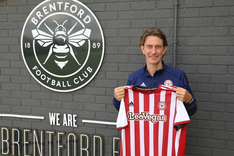 Frank was named Brentford's new head coach on Tuesday: Brentford FC