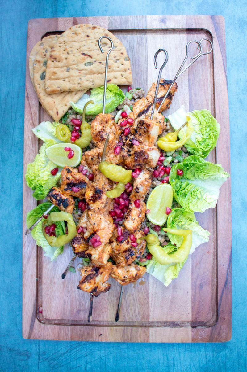 """<p><a href=""""https://www.delish.com/uk/cooking/recipes/g33530905/chicken-weeknight-dinners/"""" rel=""""nofollow noopener"""" target=""""_blank"""" data-ylk=""""slk:Chicken"""" class=""""link rapid-noclick-resp"""">Chicken</a> shish is way more than just a post-night out staple, it is one of the tastiest ways to eat <a href=""""https://www.delish.com/uk/cooking/recipes/g29843799/healthy-chicken-breast-recipes/"""" rel=""""nofollow noopener"""" target=""""_blank"""" data-ylk=""""slk:chicken breast"""" class=""""link rapid-noclick-resp"""">chicken breast</a> IMO. Beautifully marinated in yoghurt, lemon and spices, this results in really tender chunks of meat that are then perfect charred over a <a href=""""https://www.delish.com/uk/kitchen-accessories/g32933093/bbq-tools/"""" rel=""""nofollow noopener"""" target=""""_blank"""" data-ylk=""""slk:BBQ"""" class=""""link rapid-noclick-resp"""">BBQ</a>.</p><p>Get the <a href=""""https://www.delish.com/uk/cooking/recipes/a33790234/chicken-shish/"""" rel=""""nofollow noopener"""" target=""""_blank"""" data-ylk=""""slk:Chicken Shish"""" class=""""link rapid-noclick-resp"""">Chicken Shish</a> recipe.</p>"""