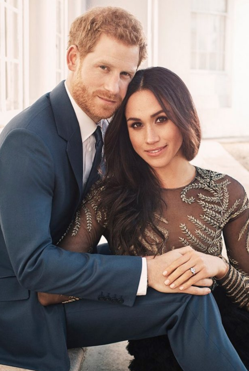 <em>Prince Harry and Meghan Markle</em>