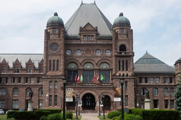 Days after arresting two former provincial employees in connection with an alleged scheme to defraud theSupport for Families program, theOntario Provincial Police have arrested a third person. (Chris Young/The Canadian Press - image credit)