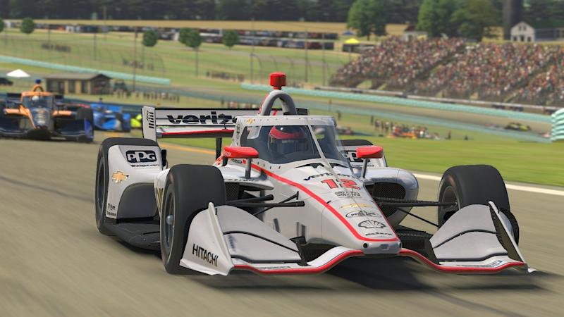 McLaughlin wins virtual IndyCar event racing from Australia