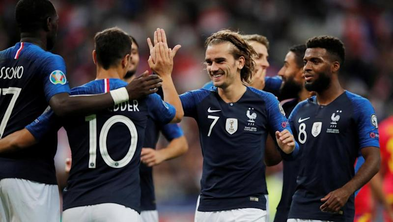 France cruise to victory over Andorra in Euro 2020 qualifier
