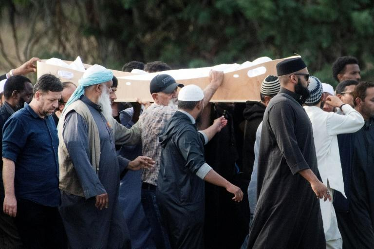 The first funerals of Christchurch victims were held Wednesday, but only six have been returned to their families so far