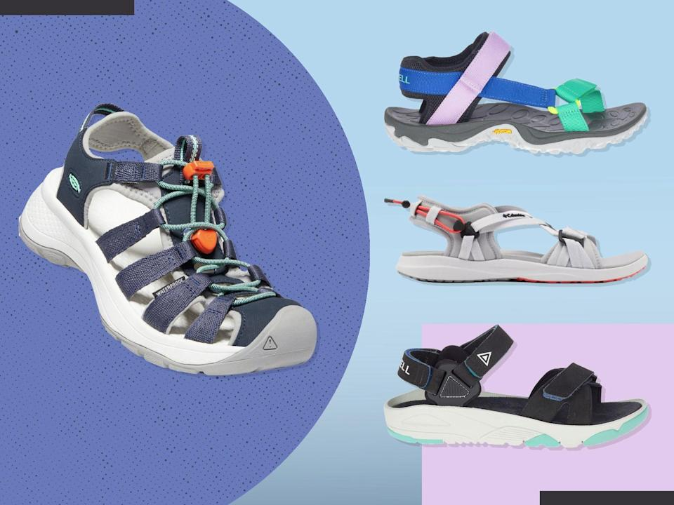 <p>When it comes to walking sandals, you need plenty of support and structure under foot, but you don't want to lose all sense of the terrain beneath you</p> (iStock/The Independent)