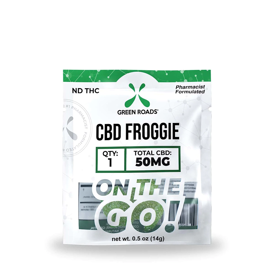 "<h3>Green Roads CBD Froggie<br></h3><br>Frog-shaped CBD gummies? Sure! This little guy is tasty, super cute, and make for a whimsical tiny gift for anyone with a sweet tooth.<br><br><strong>Green Roads</strong> Sweet CBD Froggie - 25mg, $, available at <a href=""https://go.skimresources.com/?id=30283X879131&url=https%3A%2F%2Fgreenroads.com%2Fproducts%2Ffroggies-25-mg"" rel=""nofollow noopener"" target=""_blank"" data-ylk=""slk:Green Roads"" class=""link rapid-noclick-resp"">Green Roads</a>"