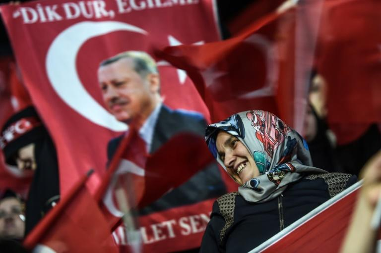 Polls show Turks are divided on whether to back a referendum on constitutional changes which would expand President Recep Tayyip Erdogan's powers