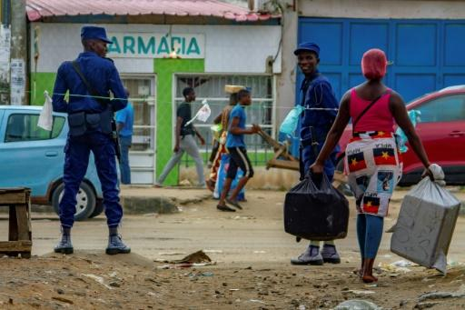 Despite the restrictions, many Angolans view earning money, finding food and fetching water as legitimate reasons to leave home