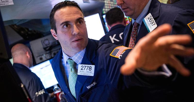 Stocks drop after weekly advance; Dow falls 100 pts