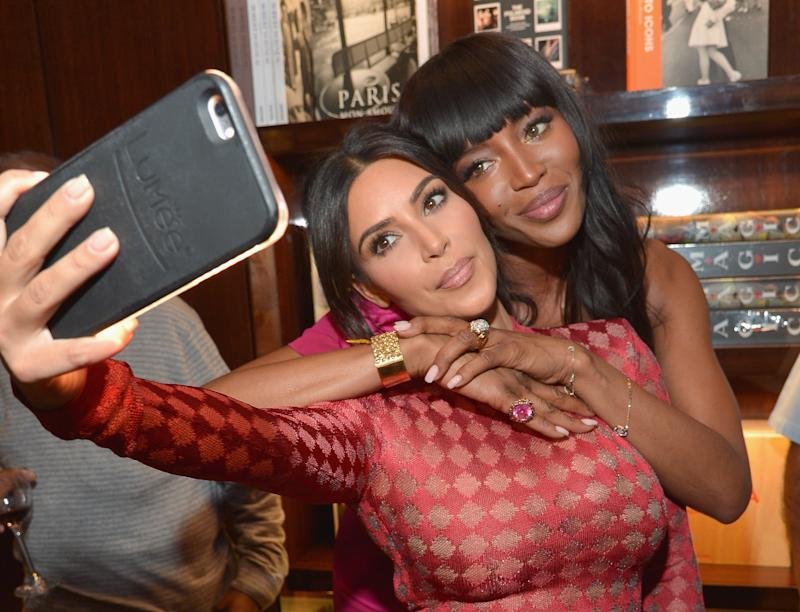 Kim Kardashian West Says She and Naomi Campbell Laugh About Their Supposed Feud