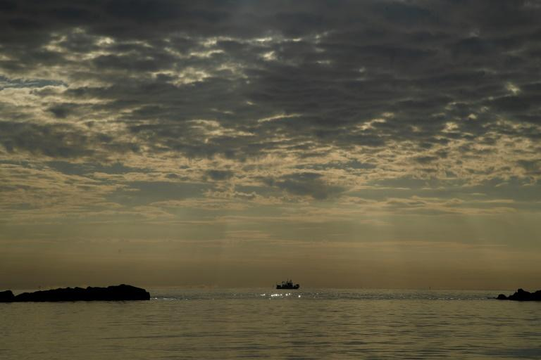 It is estimated that 80 percent of waste in the sea comes from land and 20 percent from boats and the fishing industry (AFP Photo/Filippo MONTEFORTE)