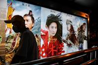 """Disney's """"Mulan"""" remake has a theatrical release in China, but in the United States, it had its premiere on the Disney+ streaming service, and is not in cinemas"""