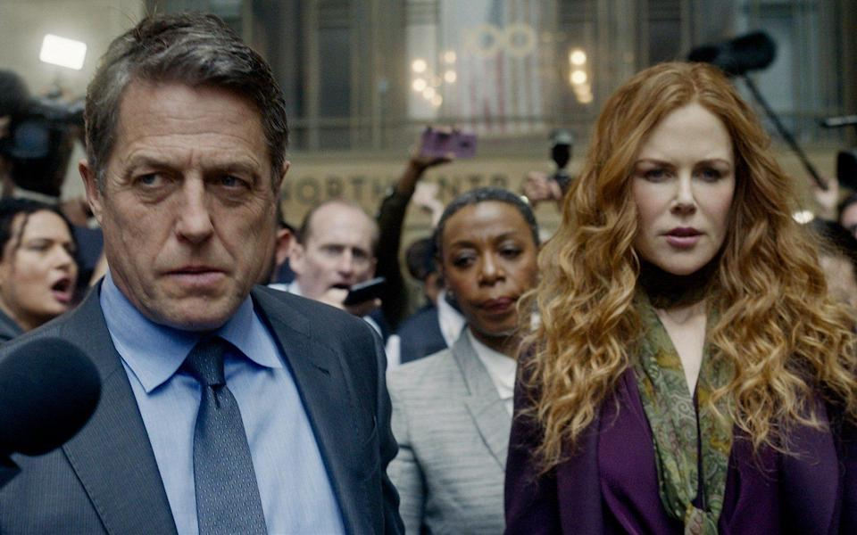 Undone: Hugh Grant and Nicole Kidman star as a wealthy New York couple caught in a scandal - HBO