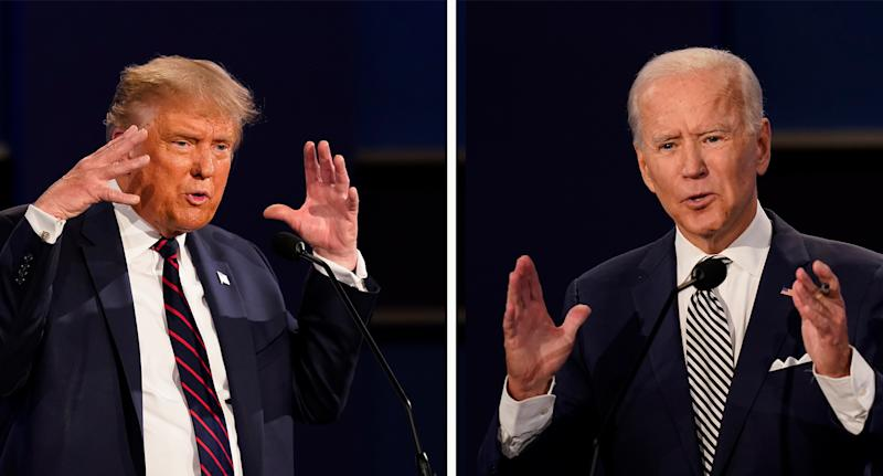 Biden has arranged for his own Town Hall address on October 15 after Trump rejected a virtual debate for that day. Source: AAP