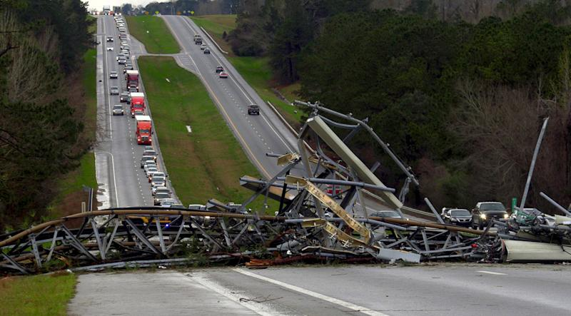 Alabama tornado kills at least 22 as severe storms hit the Southeast, officials say