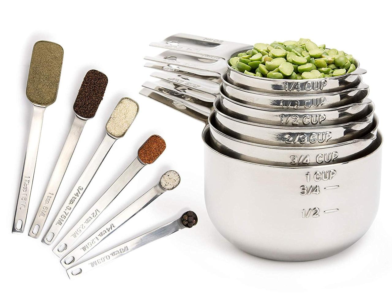 "<p>Feel like a pro with this luxe <a href=""https://www.popsugar.com/buy/Simply-Gourmet-Measuring-Cups-Measuring-Spoons-Set-433724?p_name=Simply%20Gourmet%20Measuring%20Cups%20and%20Measuring%20Spoons%20Set&retailer=amazon.com&pid=433724&price=30&evar1=moms%3Aus&evar9=46019155&evar98=https%3A%2F%2Fwww.popsugar.com%2Fphoto-gallery%2F46019155%2Fimage%2F46019240%2FSimply-Gourmet-Measuring-Cups-Measuring-Spoons-Set&list1=shopping%2Camazon%2Cgadgets%2Ckitchen%20tools%2Ckitchens&prop13=api&pdata=1"" rel=""nofollow"" data-shoppable-link=""1"" target=""_blank"" class=""ga-track"" data-ga-category=""Related"" data-ga-label=""https://www.amazon.com/Measuring-Simply-Gourmet-Stainless-Nesting/dp/B01E2HU4A2/ref=sr_1_3?keywords=measuring+cup&amp;qid=1554936131&amp;s=gateway&amp;sr=8-3"" data-ga-action=""In-Line Links"">Simply Gourmet Measuring Cups and Measuring Spoons Set</a> ($30).</p>"