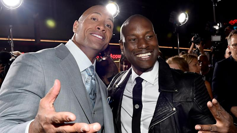 Dwayne Johnson Shades Tyrese Gibson While Teasing 'Fast' Solo Movie Spinoff: '#CandyA**esNeedNotApply'