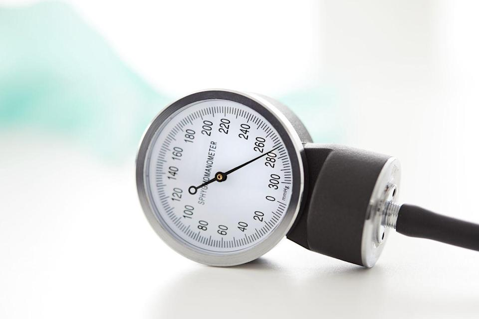 """<p>There's a reason why high blood pressure (aka hypertension) is called the """"silent killer""""—you can't feel it. """"In rare instances severely elevated blood pressure can cause symptoms of headache, visual changes, chest pain, and trouble breathing,"""" says Dr. Haythe. """"However, in most cases, there is no way to know that your blood pressure is high unless you check."""" </p>"""