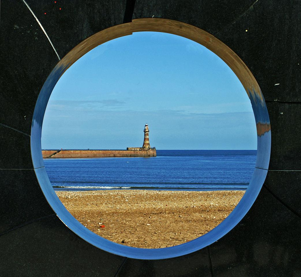 'The End of the C2C Cycle', Sunderland, Tyne and Wear: Not only did Emma Hollings capture this clever image of a lighthouse (Highly commended in Youth Classic View category), she did so after completing the 152-mile Coast to Coast cycle route from Whitehaven to Sunderland. (Emma Hollings, Landscape Photographer of the Year)