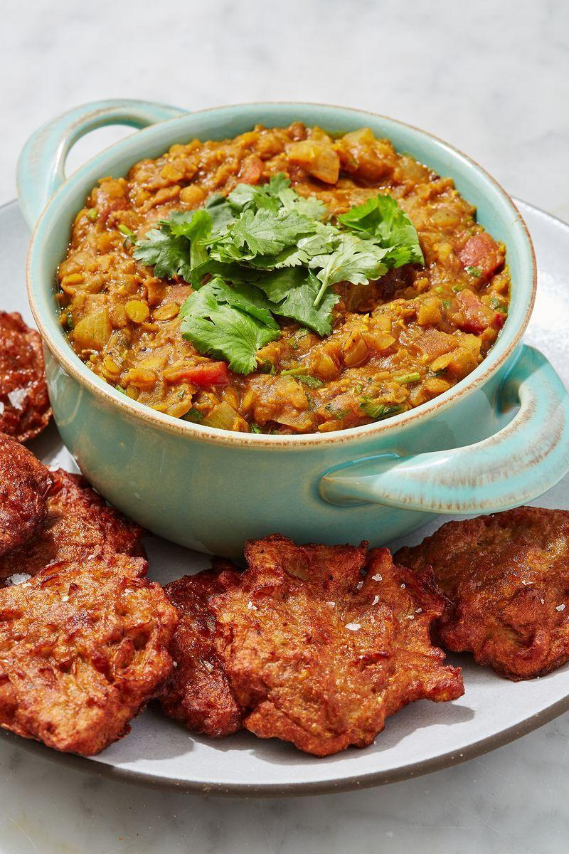 """<p>Tarka daal, is one of our favourite soul-warming, stomach-filling, store-cupboard <a href=""""https://www.delish.com/uk/easy-dinner-ideas/"""" rel=""""nofollow noopener"""" target=""""_blank"""" data-ylk=""""slk:dinner"""" class=""""link rapid-noclick-resp"""">dinner</a> wins. We love this <a href=""""https://www.delish.com/uk/cooking/recipes/a29770946/easy-indian-butter-chicken-recipe/"""" rel=""""nofollow noopener"""" target=""""_blank"""" data-ylk=""""slk:Indian"""" class=""""link rapid-noclick-resp"""">Indian</a> dish because a) it's damn right delicious, and b) we often have all the ingredients in our cupboard and fridge already. </p><p>Get the <a href=""""https://www.delish.com/uk/cooking/recipes/a31183852/tarka-daal/"""" rel=""""nofollow noopener"""" target=""""_blank"""" data-ylk=""""slk:Tarka Daal"""" class=""""link rapid-noclick-resp"""">Tarka Daal</a> recipe.</p>"""