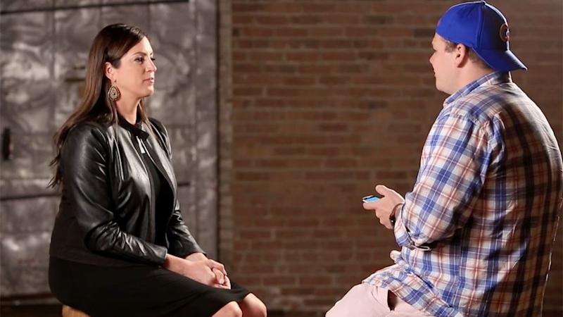 Sarah Spain was told by a sports fan that he hopes her boyfriend beats her. Photo: YouTube/JustNotSports