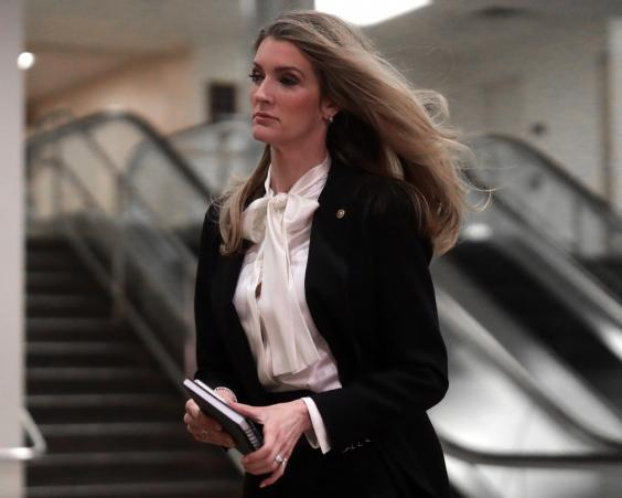 Kelly Loeffler, Republican senator from Georgia, on Capitol Hill (Getty Images)