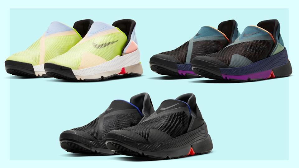 "Nike Go Fly Ease - the first ""hands-free"" sneaker wins praise. (Images via Nike)"