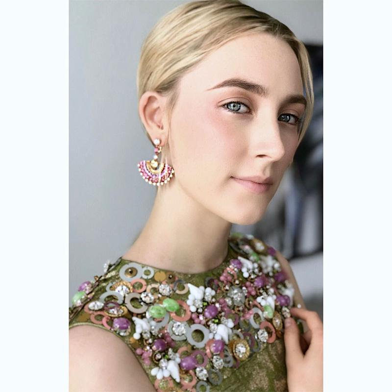 Saoirse Ronan's Best Red Carpet Beauty Moments Come Down to These Tiny Details