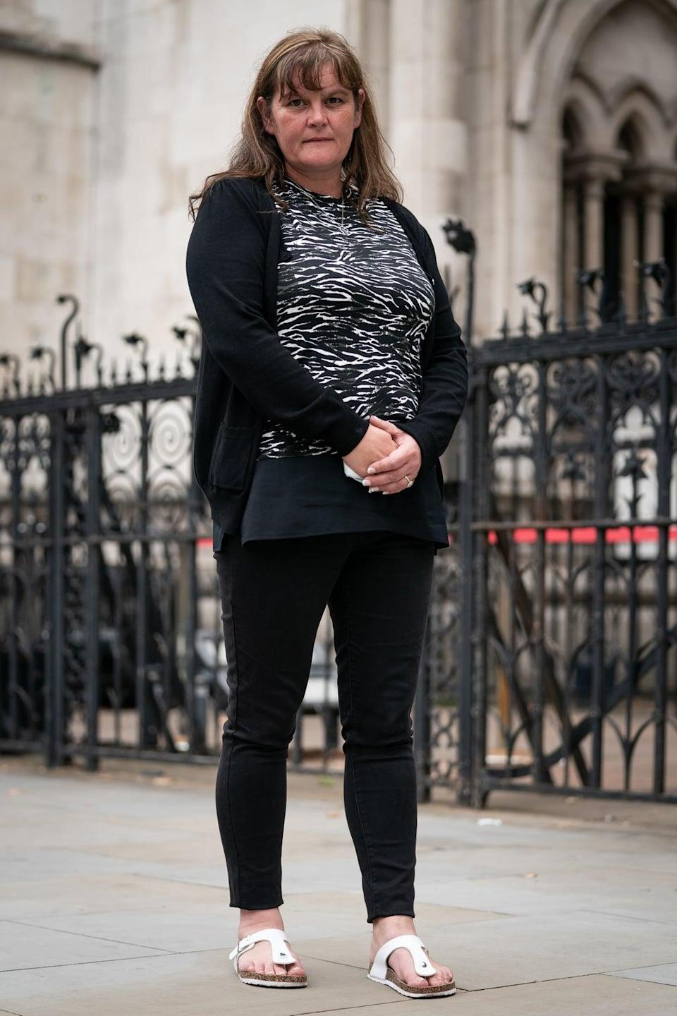 Rebecca Currie, 41 (Aaron Chown/PA) (PA Wire)