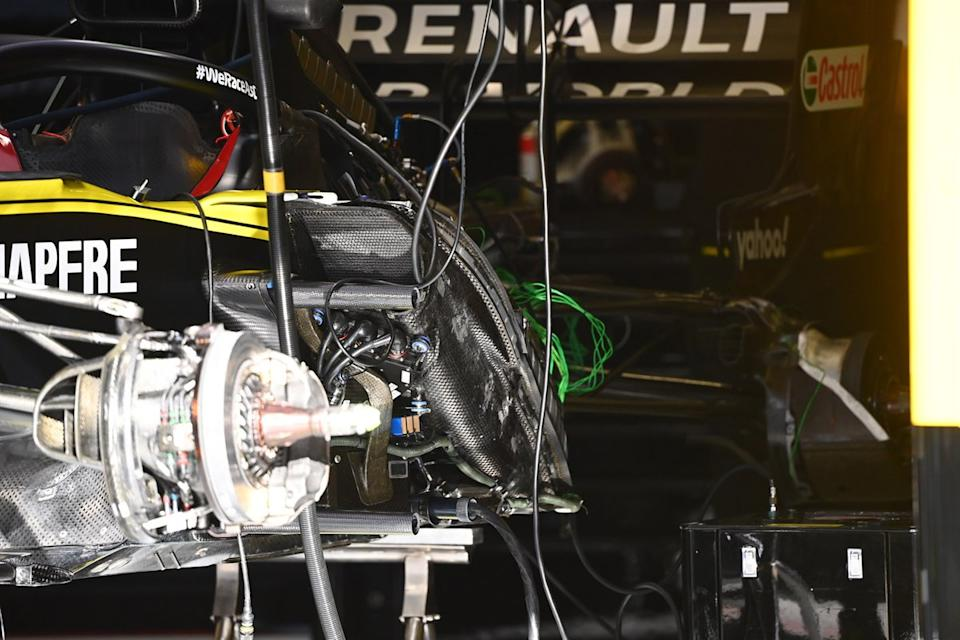 "Renault F1 Team R.S.20 side detail<span class=""copyright"">Giorgio Piola</span>"