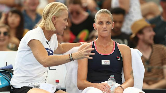 Coach Rennae Stubbs says Karolina Pliskova must be prepared to grind it out in Melbourne in order to make a major breakthrough.