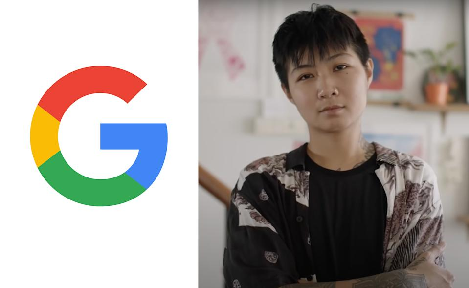 Singaporean non-binary and transgender artist Sam Lo is one of the LGBTQ people featured in Google's 2021 Pride Month video series celebrating Pride in Asia Pacific.
