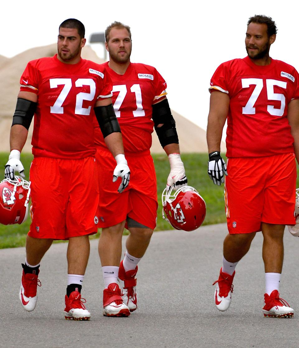 Former Chief Eric Fisher is headed to the Colts.