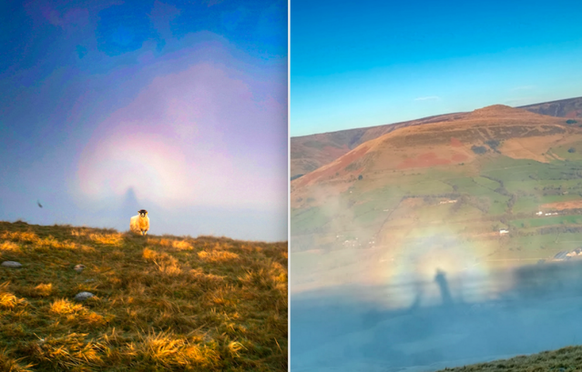 The natural effect is a large shadow of an observer cast onto cloud or mist (SWNS)