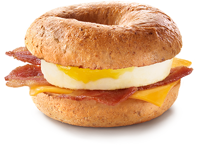<p>Fresh multi-grain bagel topped with hickory-smoked bacon, Canada Grade A egg, and a slice of processed cheddar cheese; coming in at a staggering 30 grams of fat (12 grams saturated) and 1090 mg of sodium. <br /> — Calories: 620 <br /> — Fat: 30g (Saturated Fat 12 g) <br /> — Sodium: 1,090 mg <br /> — Carbohydrates: 63 g <br /> — Sugar: 7 g <br /> — Source/Photo: McDonald's Canada </p>
