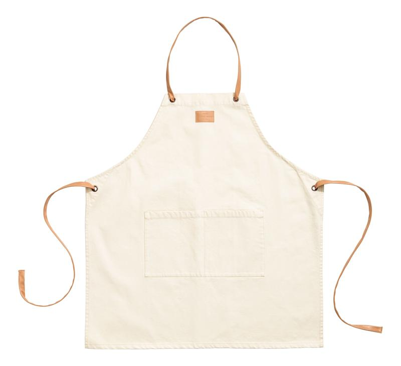 "Buy this <a href=""http://www.hm.com/us/product/72097?article=72097-A"" target=""_blank"">cotton twill apron here</a> for $24.99"