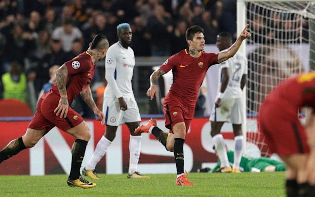 Chelsea didn't have any answers for Roma's pace and energy in the Italian capital. (The Telegraph)