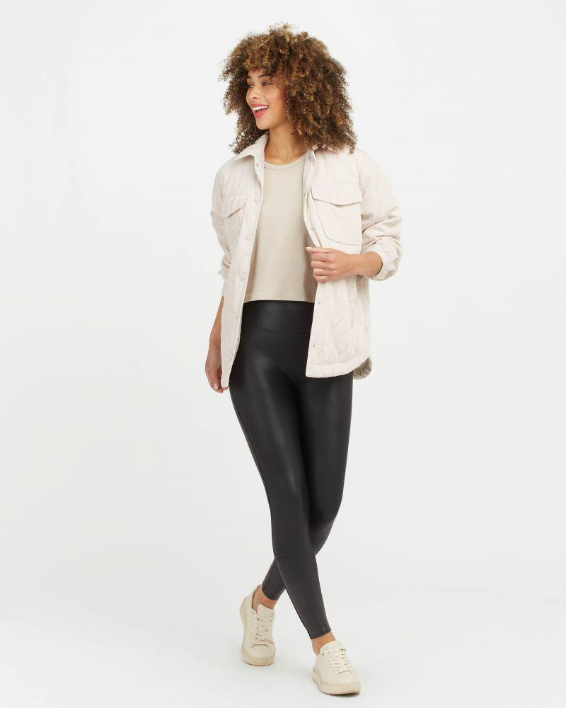 """<p>spanx.com</p><p><strong>$98.00</strong></p><p><a href=""""https://go.redirectingat.com?id=74968X1596630&url=https%3A%2F%2Fwww.spanx.com%2Fthe-shops%2Fnow-trending%2Ffaux-leather-leggings&sref=https%3A%2F%2Fwww.townandcountrymag.com%2Fstyle%2Ffashion-trends%2Fhow-to%2Fg2860%2Fhalloween-couples-costume-ideas%2F"""" rel=""""nofollow noopener"""" target=""""_blank"""" data-ylk=""""slk:Shop Now"""" class=""""link rapid-noclick-resp"""">Shop Now</a></p><p>Throw on leather-look leggings and some slides and your Sandy look is complete. As for Danny Zuko? Make sure he's got chucks, black jeans and a fitted black tee that he can roll the sleeves up on. </p>"""