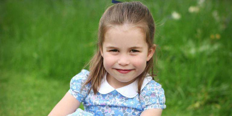 Princess Charlotte Is All Grown Up in Candid Fourth Birthday Portraits