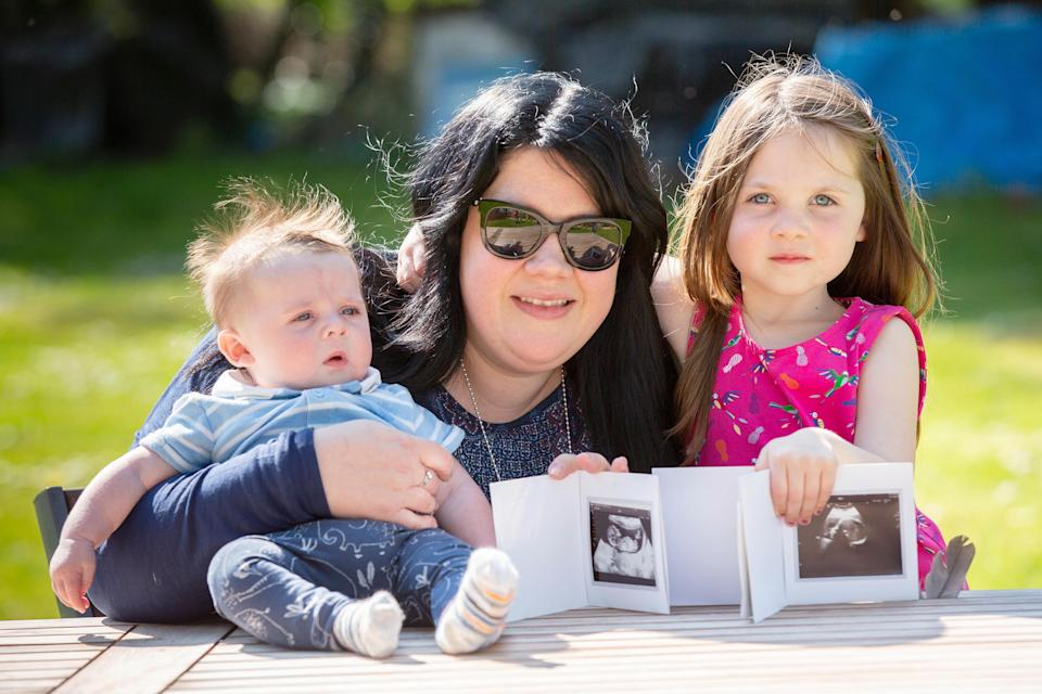 Annie has been a surrogate for four children, despite not wanting a family of her own [Photo: Caters]