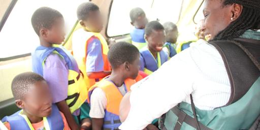 24 Boys Rescued on Ghana's Lake Volta