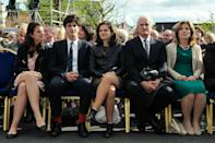 <p>Caroline Kennedy and her family attend a ceremony to commemorate the 50th anniversary of the Irish visit by US President John F. Kennedy.</p>