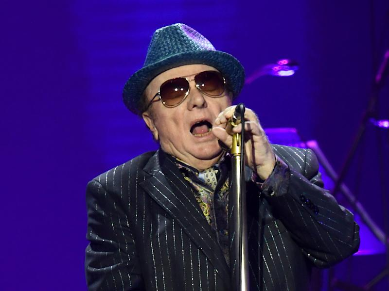 Van Morrison in concert in March (Gareth Cattermole/Getty Images)