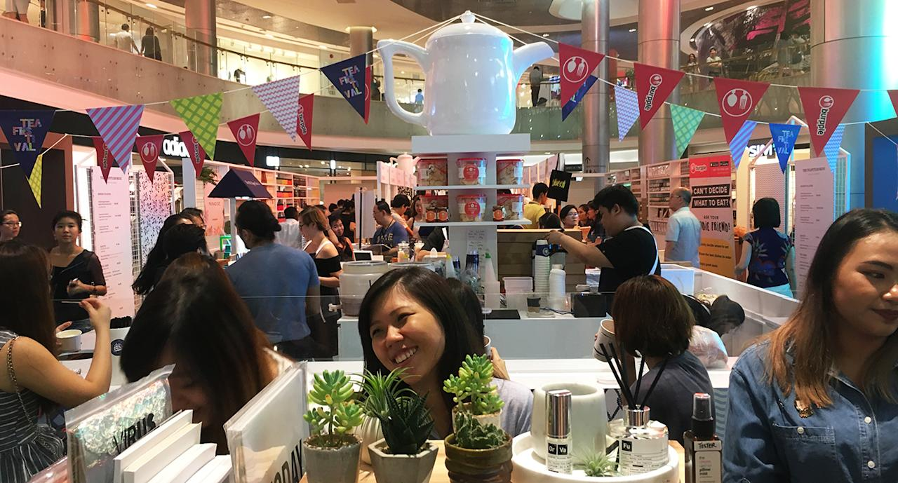 <p>The Singapore Tea Festival was held last weekend. (Photo: Gabriel Choo/ Yahoo Lifestyle Singapore) </p>